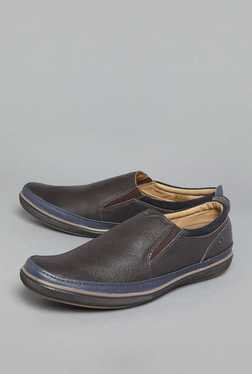 David Jones by Westside Brown Loafer Shoes