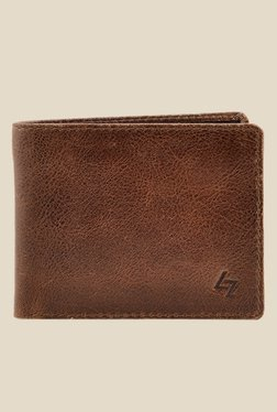 Leather Zentrum Brown Leather Wallet