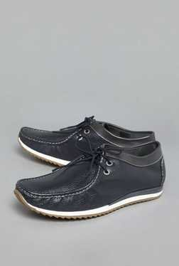 David Jones by Westside Navy Lace Up Shoes