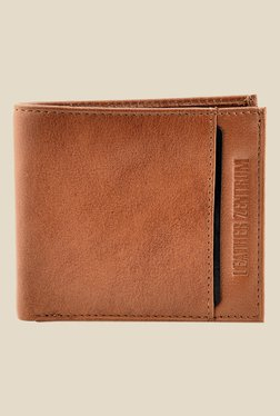 Leather Zentrum Tan Leather Wallet
