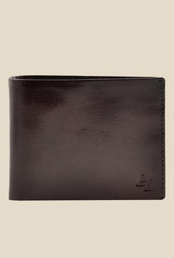 Leather Zentrum Brown Leather Wallet - Mp000000000618181