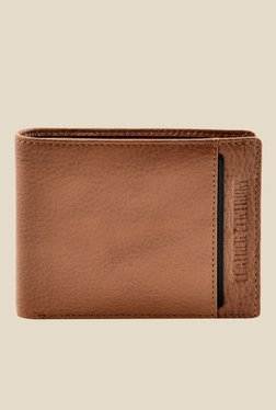 Leather Zentrum Tan Leather Wallet - Mp000000000618212
