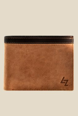 Leather Zentrum Tan Leather Wallet - Mp000000000618216