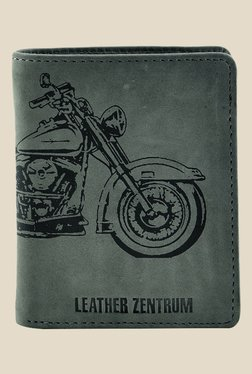 Leather Zentrum Green Leather Wallet