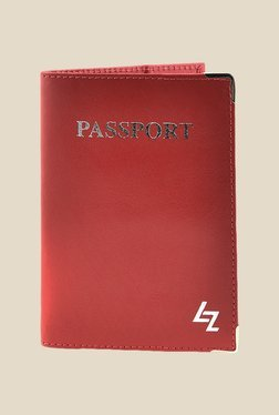 Leather Zentrum Red Leather Card Holder