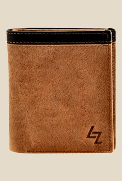 Leather Zentrum Tan Leather Wallet - Mp000000000618282