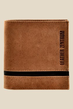 Leather Zentrum Tan Leather Wallet - Mp000000000618293