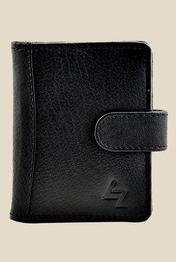 Leather Zentrum Black Leather Card Holder