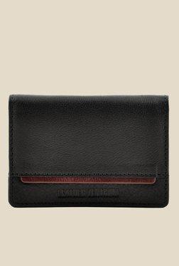 Leather Zentrum Black Leather Card Holder - Mp000000000618351