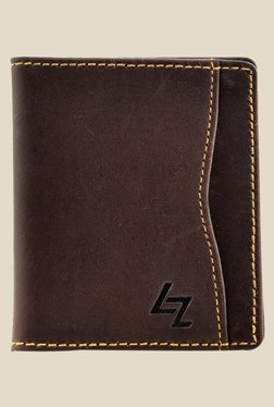 Leather Zentrum Brown Leather Card Holder