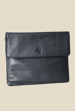 Leather Zentrum Black Leather pouch