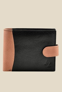 Leather Zentrum Black Leather Wallet