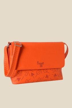 Baggit Vera Gayle Orange Synthetic Sling Bag