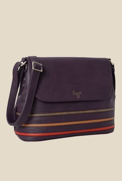 Baggit Dakata N Stella Purple Synthetic Sling Bag