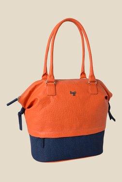 Baggit Avery Sperry Orange Synthetic Shoulder Bag