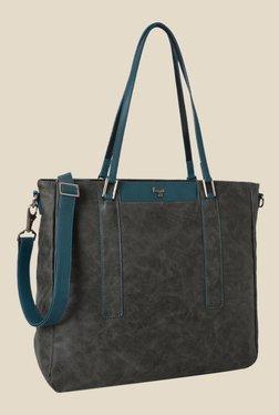 Baggit Fizz Clive Grey Synthetic Shoulder Bag