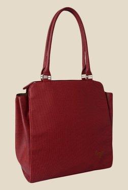 Baggit Founder Goblin Maroon Synthetic Shoulder Bag