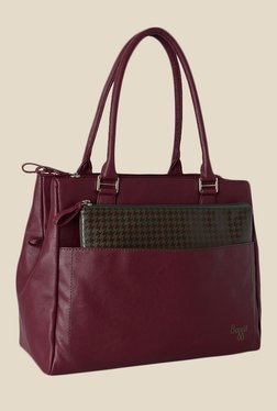 Baggit Kangaroo Tarzen Wine Synthetic Shoulder Bag
