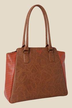 Baggit Sareta Bindas Caramel Synthetic Shoulder Bag