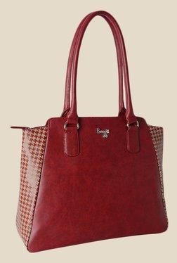 Baggit Sareta Dum Maroon Synthetic Shoulder Bag