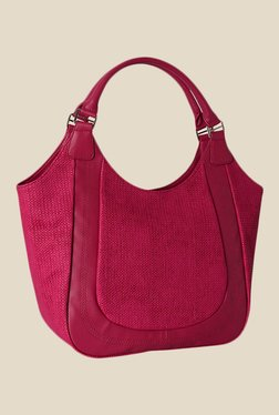 Baggit Shallot Jhuti Pink Synthetic Shoulder Bag