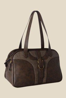 Baggit Trace Tingtong Brown Synthetic Shoulder Bag