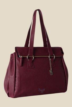Baggit Wendy Tarzen Wine Synthetic Shoulder Bag