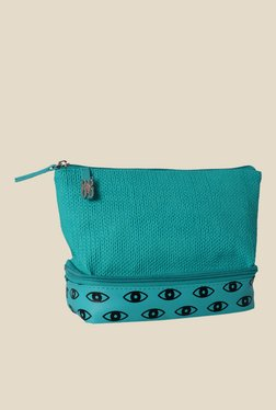 Baggit Lace Jhuti Aqua Synthetic Pouch