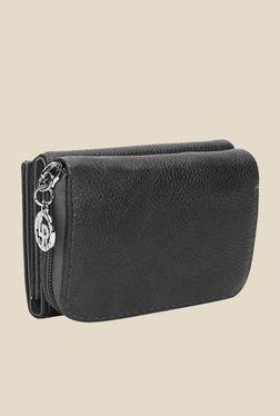 Lino Perros Black Textured Wallet - Mp000000000621303