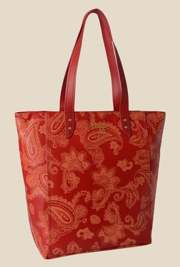 Baggit Amaze Emily Light Red Synthetic Shoulder Bag