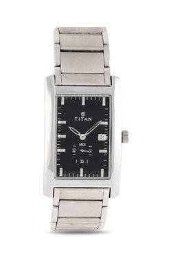 Titan NH9280SM02A Formal Steel Analog Watch For Men