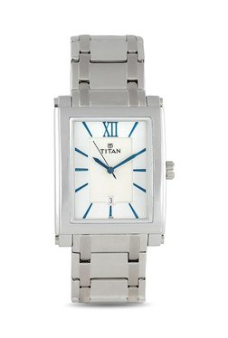Titan NH9327SM01A Formal Steel Analog Watch For Men