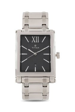 Titan NH9327SM02A Formal Steel Analog Watch For Men