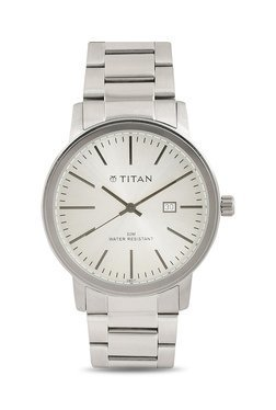 Titan NH9440SM02J Formal Steel Analog Watch For Men