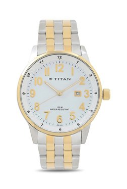 Titan NH9441BM01J Formal Steel Analog Watch For Men