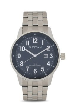 Titan NH9441SM01J Formal Steel Analog Watch For Men