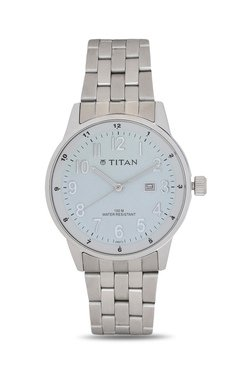 Titan NH9441SM02J Formal Steel Analog Watch For Men