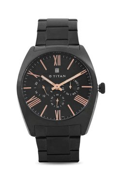 Titan NH9476NM01J Formal Steel Analog Watch For Men