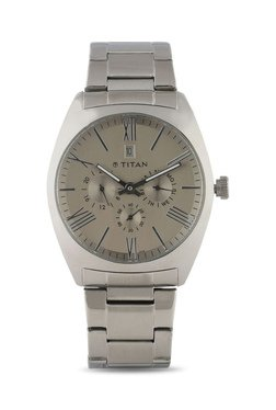 Titan NH9476SM01J Formal Steel Analog Watch For Men