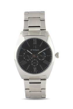 Titan NH9476SM02J Formal Steel Analog Watch For Men