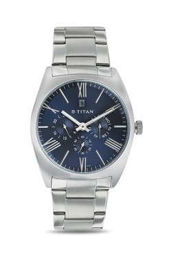 Titan NH9476SM03J Formal Steel Analog Watch For Men