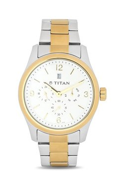 Titan NH9493BM01J Formal Steel Analog Watch For Men