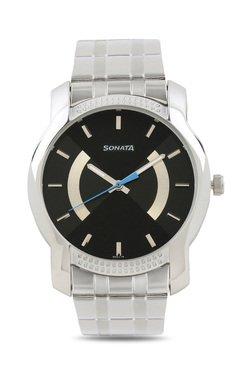 Sonata 7093SM01 Elite Analog Watch For Men