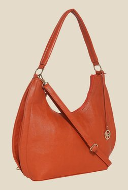Lino Perros Orange Hobo Bag