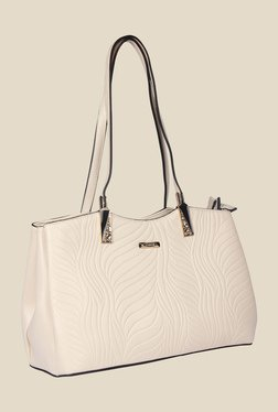 Esbeda Beige Synthetic Textured Shoulder Bag - Mp000000000622011