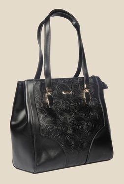 Esbeda Black Synthetic Textured Shoulder Bag - Mp000000000622015
