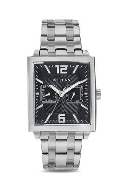 Titan NH1678SM03 Formal Steel Analog Watch For Men