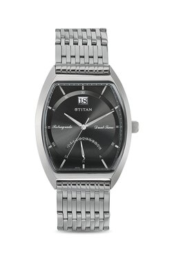 Titan NH1680SM01 Formal Steel Analog Watch For Men