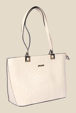 Esbeda Beige Synthetic Textured Shoulder Bag - Mp000000000622071