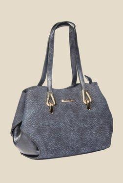 Esbeda Navy Synthetic Textured Shoulder Bag